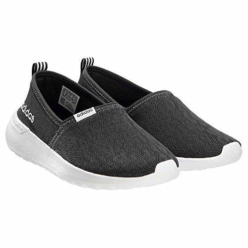 adidas Neo Womens Lite Racer Slip on W Casual Sneaker (6.5 B(M), Black (New ()