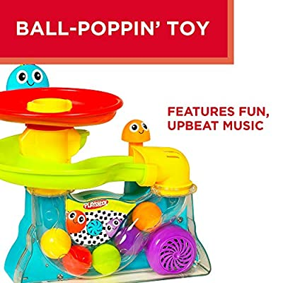 Playskool Explore 'N Grow Busy Ball Popper Musical Toy; Provides Opportunity for Baby and Toddler to Practice Motor Skills: Toys & Games