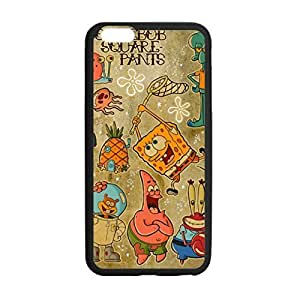Unique Design Spongebob Squarepants Pattern Case Hard Durable Case Cover Skin for Iphone 6 with 4.7 by ruishername