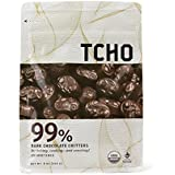 TCHO Chocolate 99% Dark Chocolate Critters, 8 Ounce