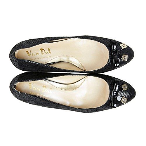 Van Dal - Zapatos de tacón  mujer Negro - Black Lizard Print