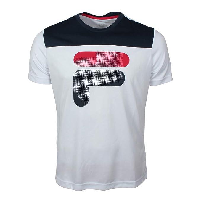 Fila Hombre Camiseta Tim Blanco, Herren:XXXL: Amazon.es: Ropa y ...