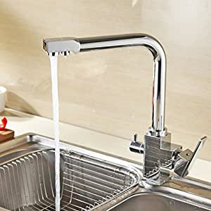 Grifer a cocina con filtro hapilife 1 8kg grifo smosis 3 for Griferia osmosis
