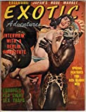 img - for Exotic Adventures - Volume 1 Number 2 (1958) [VINTAGE MEN'S MAGAZINE] book / textbook / text book