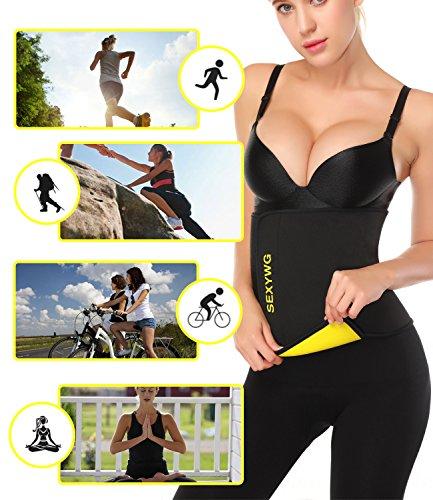 ef21dde92a SEXYWG Hot Sweat Neoprene Shaper Velcro Slimming Belt Sauna Waist ...