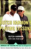 img - for Butch Harmon's Playing Lessons book / textbook / text book
