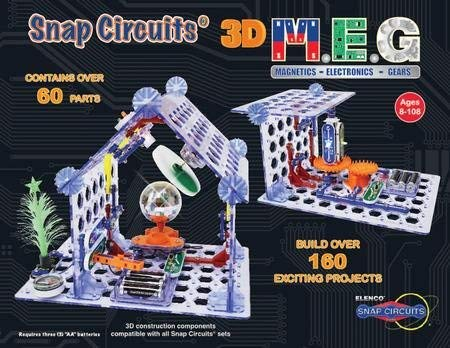 ToyPlaya Snap Circuits M.E.G., Magnetics, Electronics, Gears