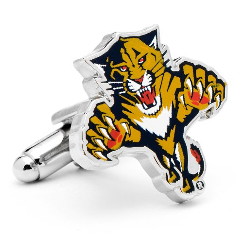Florida Panthers Cufflinks Novelty 1 x 1in