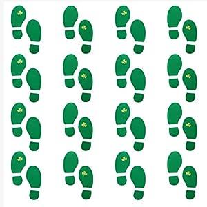 Handy image with leprechaun feet printable