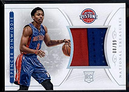 huge selection of 4bc77 6d095 Amazon.com: Spencer Dinwiddie 2014-15 Panini National ...
