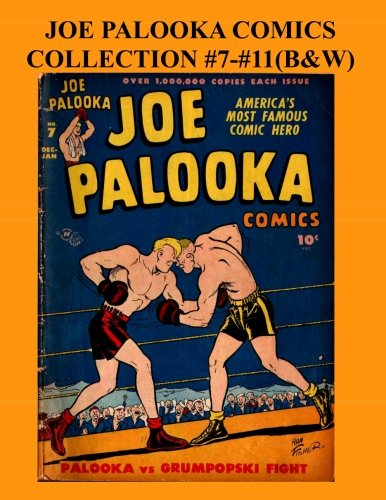 Joe Palooka Comics Collection #7 - #11 (B&W) Americas Favorite Boxer - In the Army, 5 Issue Collection! [Productions Inc., Harvey] (Tapa Blanda)