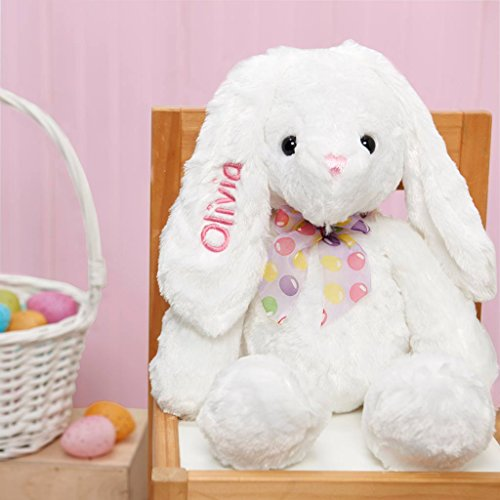Personalized Easter Bunny (Personalized Plush Easter Bunny 18