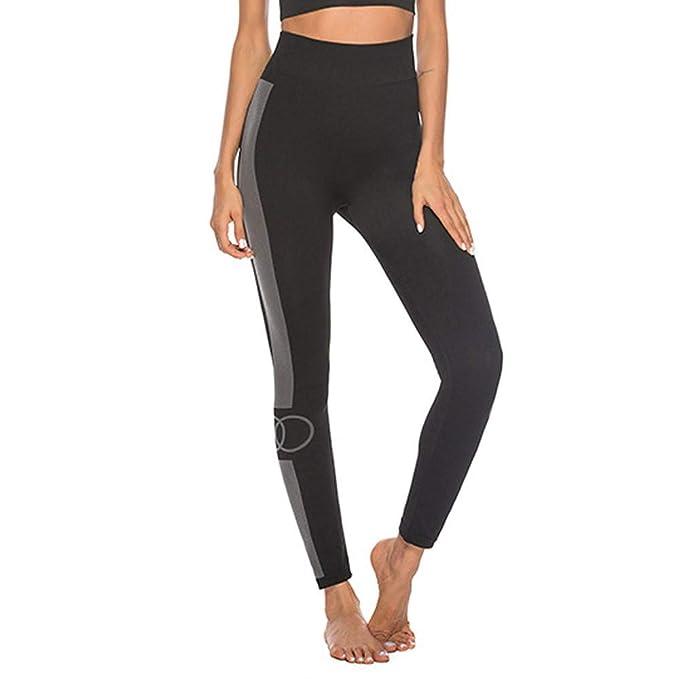 Pantalones de Yoga,❤️ LEvifun Las Mujeres De Cintura Alta ...