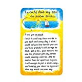 "Wallet Card: I Would Like My Son To Know This, 2.1"" x 3.4"""