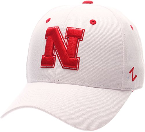 Nebraska Fitted Hat Zephyr Cornhuskers - Zephyr Nebraska Cornhuskers Official NCAA DH Size 7 1/8 Fitted Hat Cap by 062999