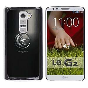 A-type Arte & diseño plástico duro Fundas Cover Cubre Hard Case Cover para LG G2 (Tan alto como el honor)