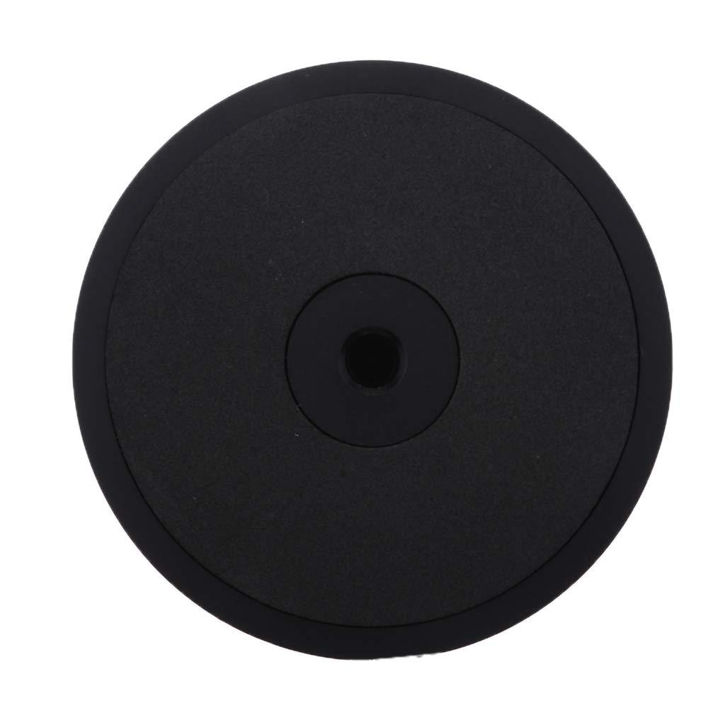 Sharplace LP Vinyle Platines vinyles M/étal Disque Stabilisateur Record Poids Pince Argent