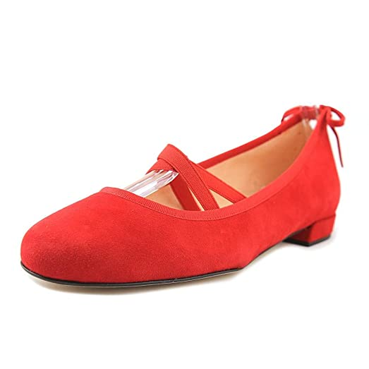 Stuart Weitzman Bolshoi Women US 6 Red Ballet Flats
