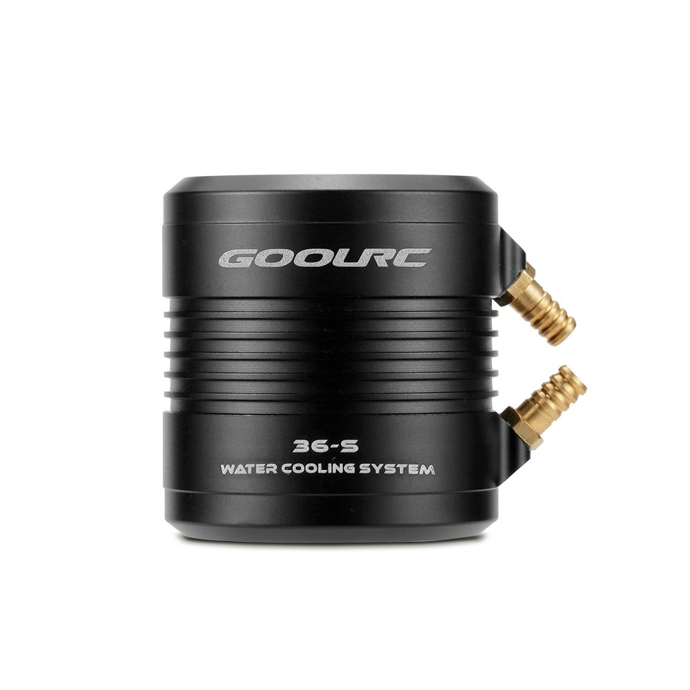 GoolRC Original Aluminum 36-S Water Cooling Jacket Cover for 3660 3670 RC Boat Brushless Motor