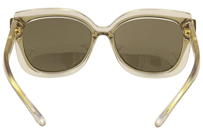 3aa81ada5024 Amazon.com: Tory Burch Women's 0TY9646 Crystal/Gold/Gold Flash: Clothing