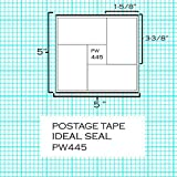 Pinwheel Postage Meter Tapes~Made in