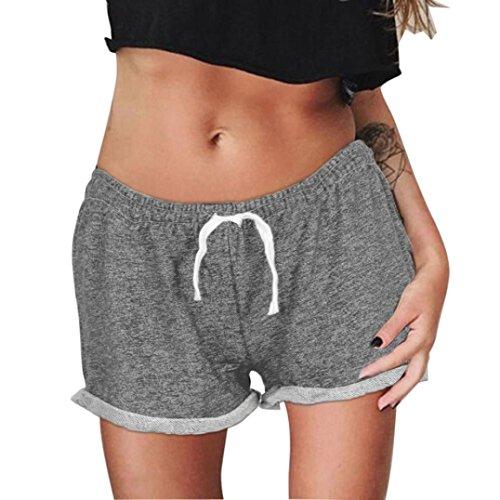 Women : Pleated Shorts Khaki - 4