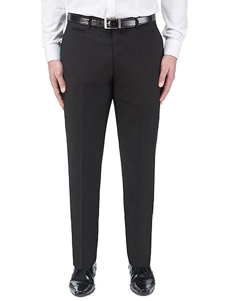Skopes Madrid Suit Trousers - Black up to 72 Waist!