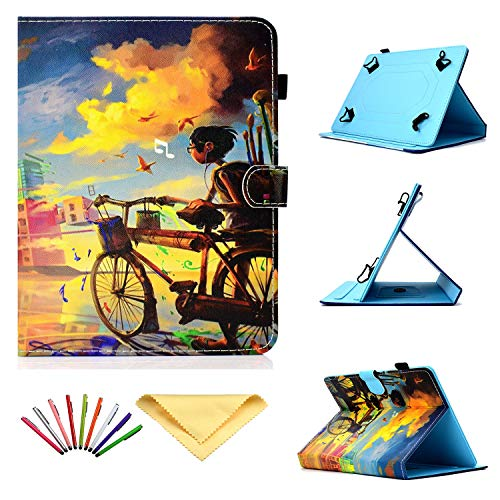Uliking Universal Case for 9.5-10.5 inch Tablet, PU Leather Stand Cover 9.6