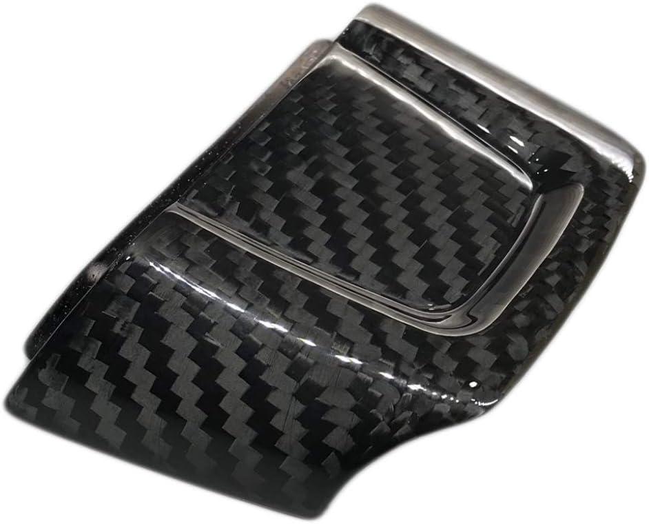 X AUTOHAUX Car Interior Steering Wheel Trim Cover Set Carbon Fiber Pattern Black for Subaru