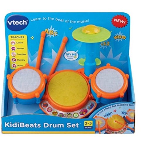 Vtech KidiBeats Drum Set Kids Music Toys Toddlers Baby Gift