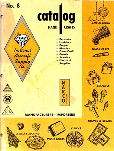 National Artcraft Supply Co. Catalog Hand Crafts No. 8 - Artcraft Frames
