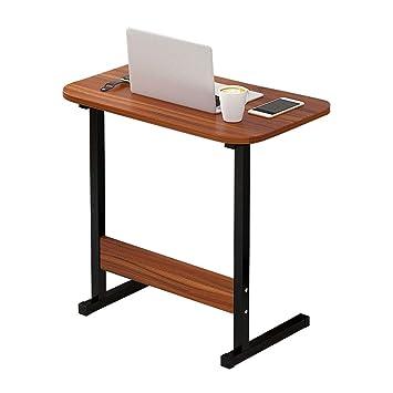 Soporte para computadora portátil con Bandeja extraíble Mesa para computadora portátil con Respaldo de Madera Maciza para sofá/Dormitorio/Sobre Cama: ...