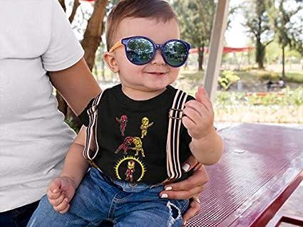 Star Wars - Iron Man Parodie signiert Hochwertiges Herren-T-Shirt - Ref : 1120 Iron Man Lustiges Schwarz Baby T-Shirt Deadpool OKIWOKI Star Wars C-3PO und Iron Man