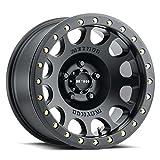 "Method Race Wheels 105 Beadlock Matte Black 17x8.5 5x5.5, 0mm Offset 4.75"" Backspace, MR10578555500B"