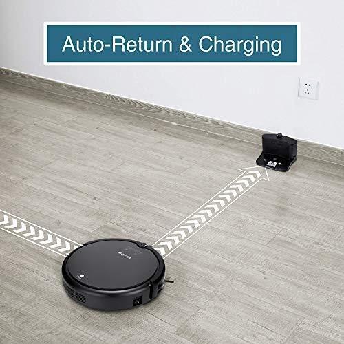 Automatic Hair Cleaner Mop, Self-Charging Vacuum Cleaner, UV Filter Hair