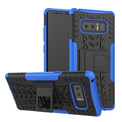 OFU®Para Sumsung Galaxy Note 8 Smartphone, Híbrido caja de la armadura para el teléfono Sumsung Galaxy Note 8 resistente a prueba de golpes contra la lucha de viaje accesorios esenciales del teléfono- azul