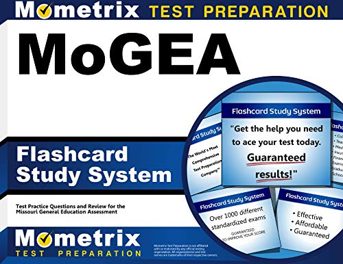 MoGEA Flashcard Study System: MoGEA Test Practice Questions & Exam Review for the Missouri General Education Assessment (Cards) by MoGEA Exam Secrets Test Prep Team
