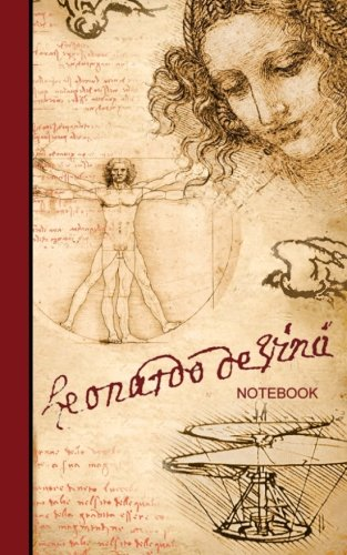 Leonardo da Vinci Notebook: Drawings and Sketches (cuaderno / portable / gift) (Signature Series)