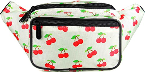 SoJourner Cherry Fanny Pack - Cute Packs for men, women fest