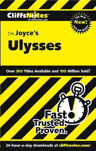 CliffsNotes on Joyce's Ulysses, Revised Edition (Cliffsnotes Literature Guides)