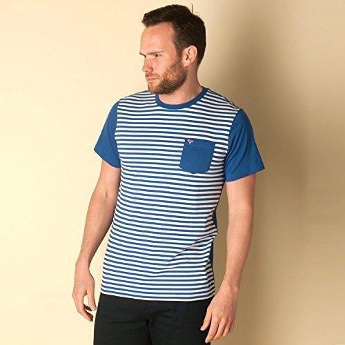 Herren Birke gestreiftes T-Shirt