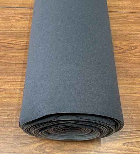 - Headliner Doctor Repair Fabric Compatible with Chevy S10 -Charcoal- 72' x 60