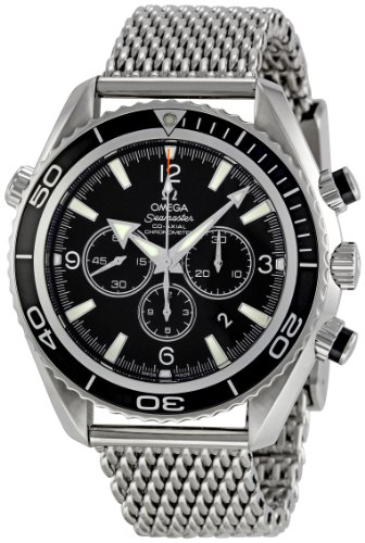 Omega-Mens-22105200-Seamaster-Planet-Ocean-Chronograph-Dial-Watch