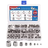Taigoehua 210PCS Wire Thread Inserts Screws Sleeve