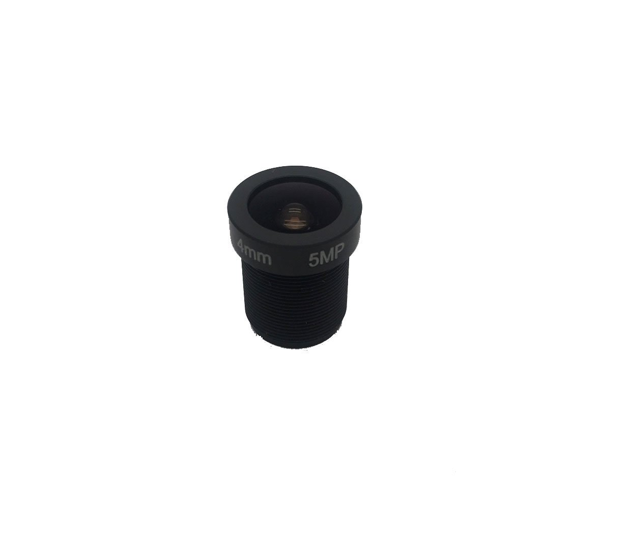 Yohii 4mm/0.16 Inch 1/2.5'' Format 5MP IR Fixed Iris Lens for CCTV Board Video Camera