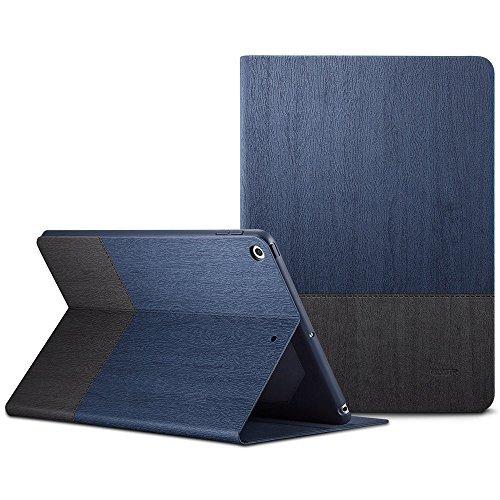 ESR Urban Premium Folio Case for iPad 9.7 2018/2017, [Apple Pencil Holder], Book Cover Design, Multi-Angle Viewing Stand, Smart Cover Auto Sleep/Wake for iPad 9.7