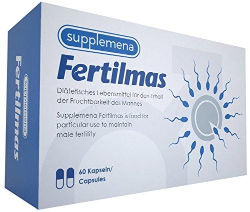 ity Supplements: Fertilmas Vitamin D C and B12 Antioxidant Zinc and Folic Acid Men's Sperm Motility Reproductive Health Aid ()