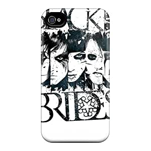 Pauleasy ZZh2674SLcv Cases Covers Iphone 4/4s Protective Cases Black Veil Brides