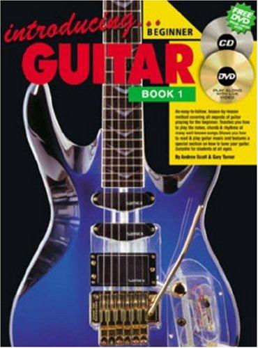 Introducing Guitar Book - CP72611 - Introducing Guitar Book 1 BK/CD/DVD