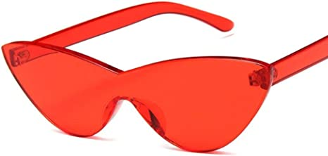 WOAIXI Gafas Sol,Gafas De Sol Deporte,Ojo De Gato Butterfly Gafas De Sol Polarizadas, Ciclismo con Protección Uv400 para Hombres Y Mujeres Lente Roja 9807C3: Amazon.es: Deportes y aire libre